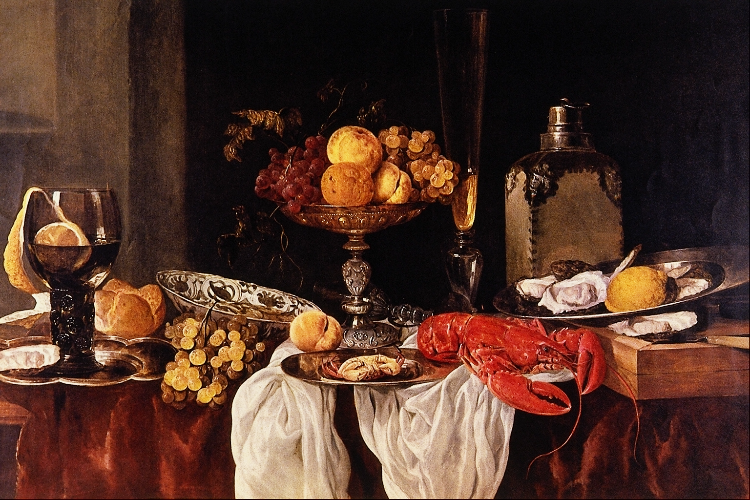 Dutch artists still life for Baroque lifestyle
